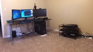 Flooded Basement Update and New Setup (Back to the Basics)!