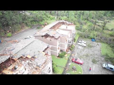 Tornado Damage - Bessemer, AL - Drone Aerial Footage 4/28/14