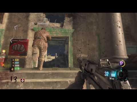 Black Ops 3: ZOMBIES, GOROD KROVI, DLC, HG40, and M1 GARAND, Gameplay.