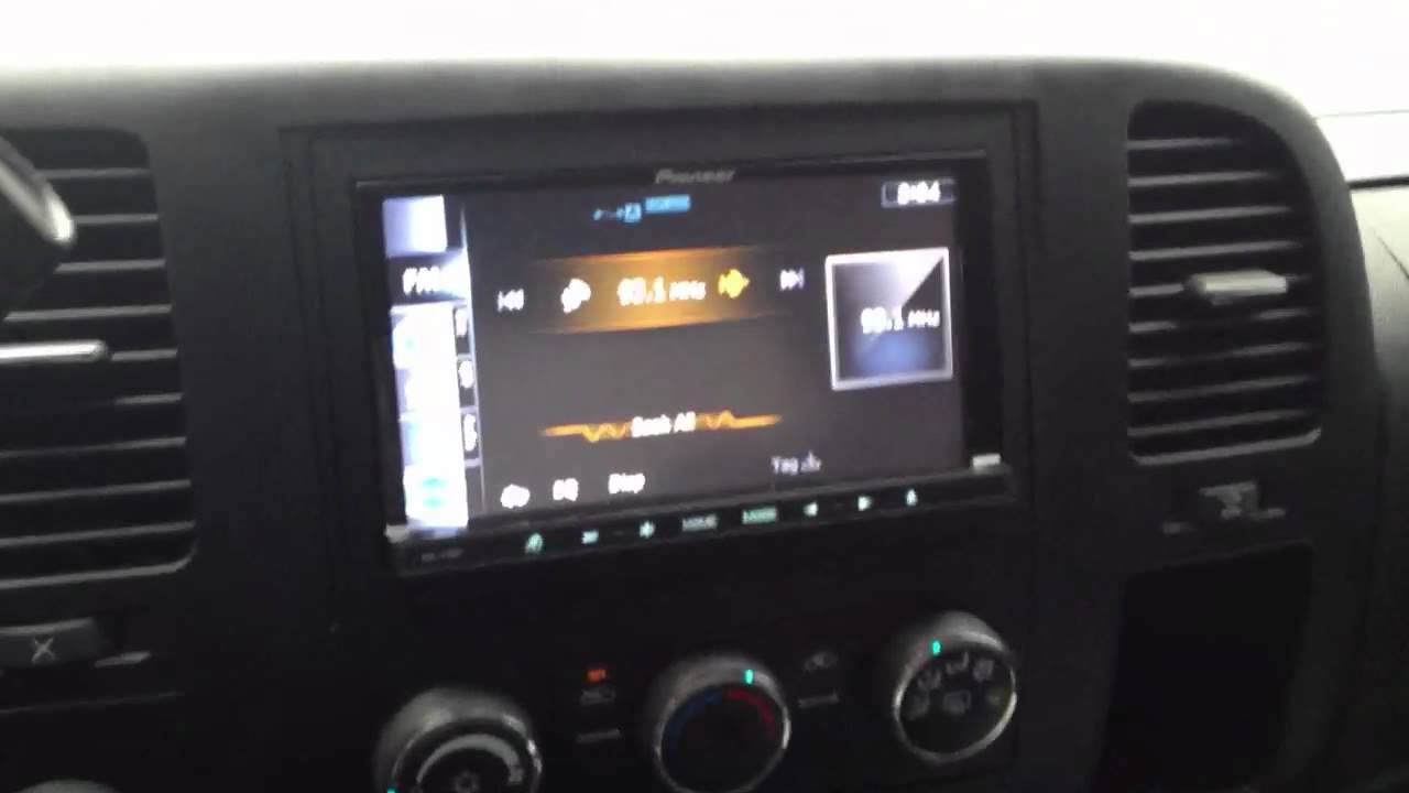 2009 chevy bose wiring    chevy    silverado 2008 with pioneer avic z130bt youtube     chevy    silverado 2008 with pioneer avic z130bt youtube
