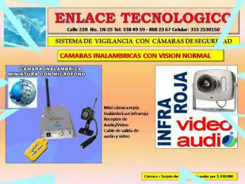 Camaras de seguridad cameras youtube - Camaras de seguridad inalambricas ...