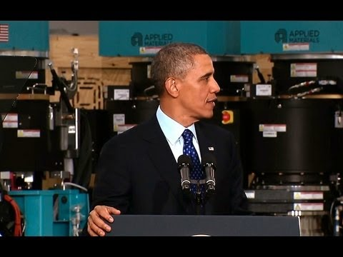 President Obama Speaks on Innovation and Manufacturing