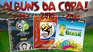 Coleção Álbuns da Copa do Mundo 2006, 2010 e 2014! [PT-BR] view on youtube.com tube online.