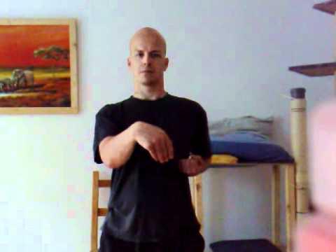 2010 Physical exercise - practicing Siu Nim Tao