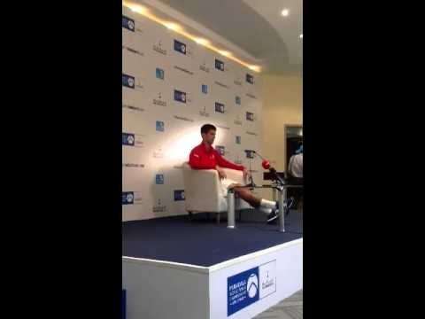 Novak djokovic on Boris Becker
