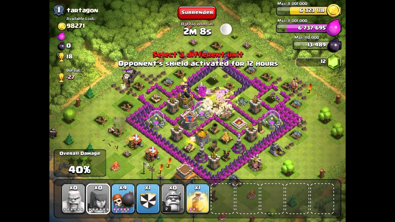 Clash of Clans Th8 Farming Base