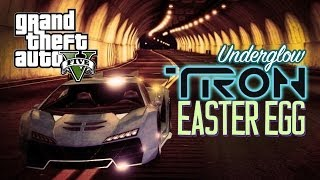 GTA 5 EASTER EGGS: UNDER GLOW FOR YOUR CAR! TRON EASTER