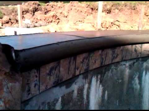 Pool Coping Cantilever 100 Concrete Inc Youtube