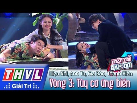 THVL | Hoán đổi cặp đôi - Tập 1 | Vòng 3: Tùy cơ ứng biến - Diệu Nhi, Anh Tú, Gia Bảo, Thanh Hiền