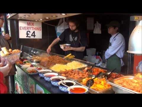 London Good Street Food. Thai Restaurants in Camden Market, Camden Town