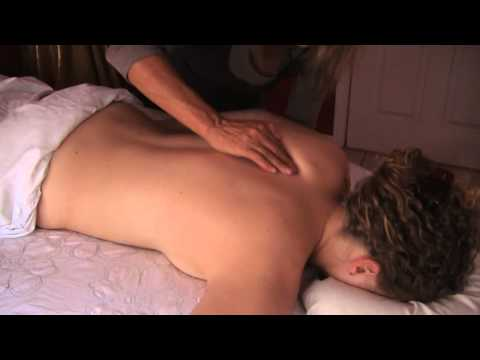 Body Massage Therapy Techniques 1, Lymphatic Back Shoulders