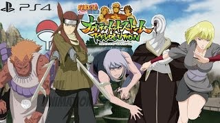 Naruto Ultimate Ninja Storm 4 CHARACTER LIST Confirmed