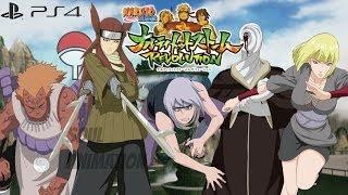 Naruto Ultimate Ninja Storm 4 CHARACTER LIST PSvita And PS4