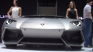 [Hot girls around Lamborghini Aventador] Video
