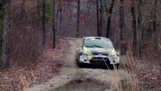 Ken Block Tests For 5th Win At The 2010 100 Acre Wood