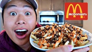 DIY MCDONALD'S HALLOWEEN FRIES!!!
