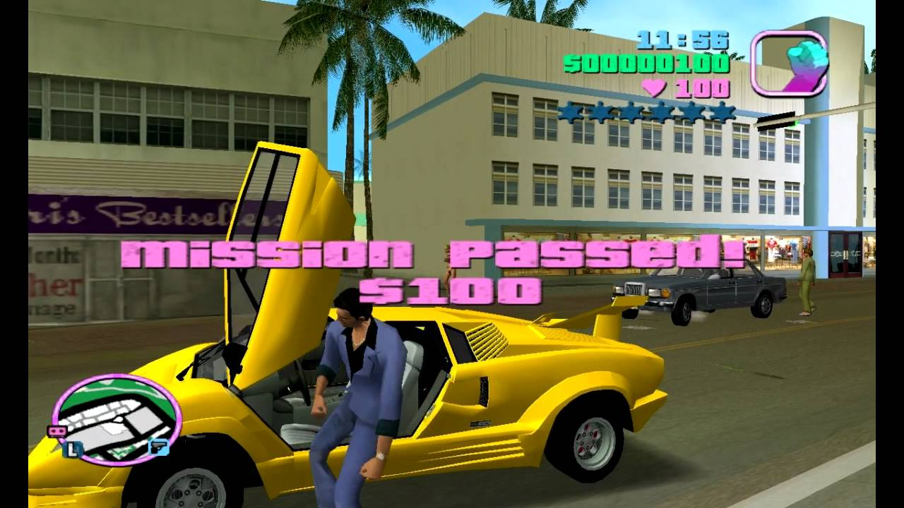 Grand Theft Auto Vice City - Gameplay - YouTube