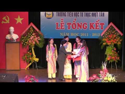 Trường Tiểu học tư thục Nhật Tân _ Lễ tổng kết năm học 2011 - 2012