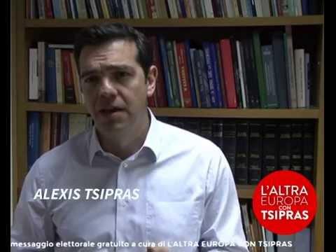 Che cos'è l' Altra Europa con Tsipras?