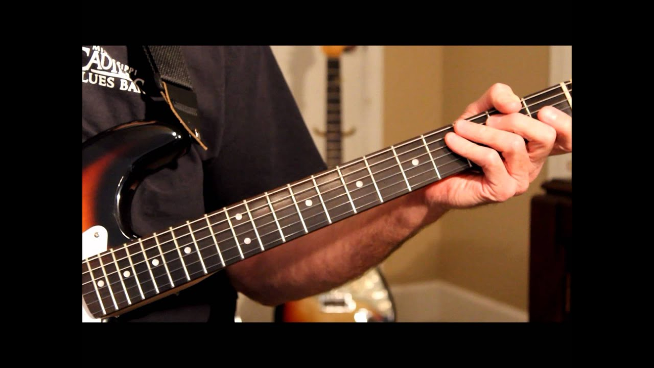 CAGED Guitar Chords System C Chord Method Explained - YouTube