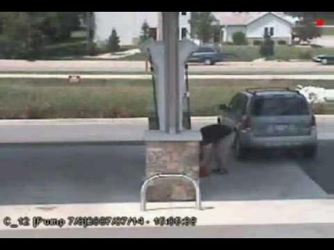acidente posto gasolina