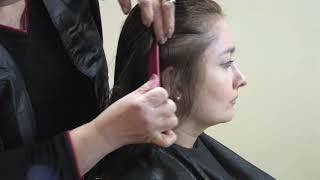 Curso de Peluquería - Como cortar el pelo en capas - 1/2