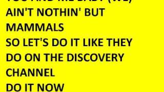 DISCOVERY CHANNEL (lyrics)