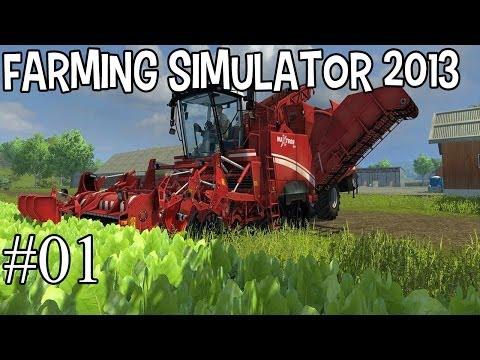 Começando a fazenda - Farming Simulator 2013 - #1