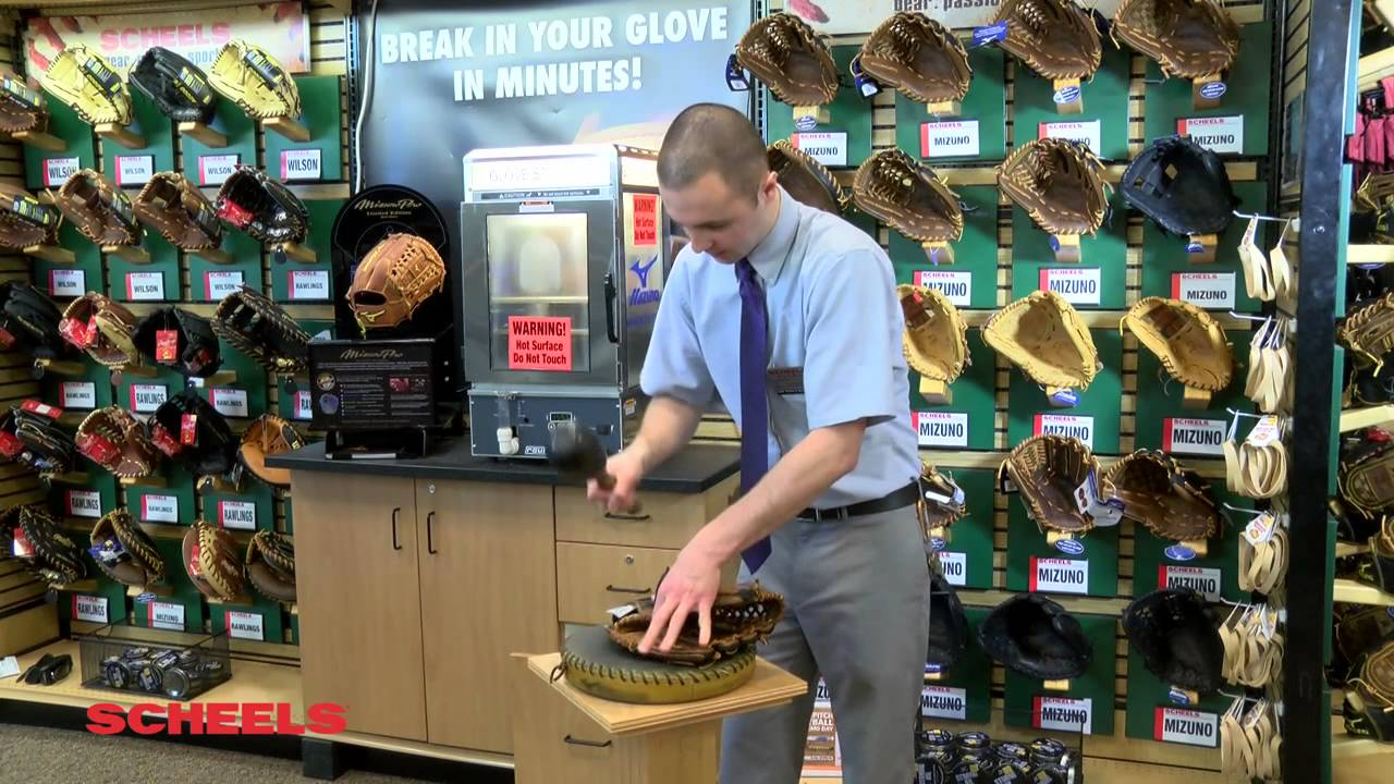 Baseball Glove Steaming Machine Parts : Behind the counter baseball glove steamer youtube