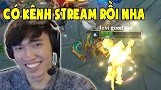 Levi chính thức có kênh stream trên twitch mới, Tốn 500$ chỉ để chơi aram cùng Aphromoo