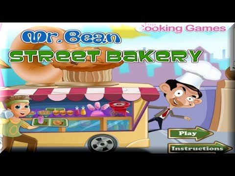 Mr Bean Street Bakery - Cooking Games for Kids