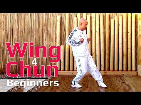 Wing chun for beginners lesson 2: basic leg exercise with twist