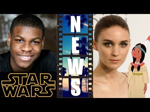 John Boyega for Star Wars 2015? Plus Rooney Mara as Peter Pan's Tiger Lily - Beyond The Trailer