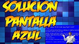 Como Solucionar Pantalla Azul Windows 7 LINK RESUBIDO