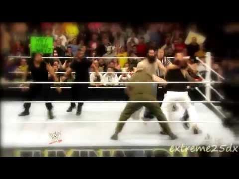 The Shield vs. The Wyatt Family Highlights - HD Elimination Chamber 2014