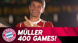400 Matches For Fc Bayern! Thomas Müller's Milestone | Best Moments