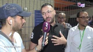 الفنان الكوميدي إيكو يوجه رسالة ساخرة لمسؤولي جامعة لقجع | خارج البلاطو