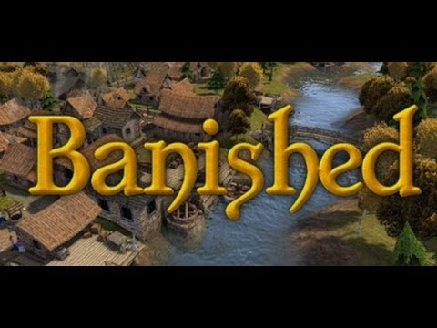 Banished| Ep 1 (Hard Mode)| Getting Started (Survival City Building Sim)