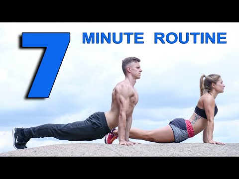 """7-Minute """"Full Body Workout"""" You Can Do Anywhere!"""