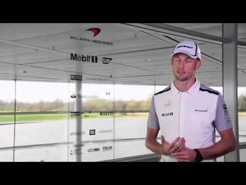 F1 2014 - McLaren Mercedes MP4-29 launch - Jenson Button