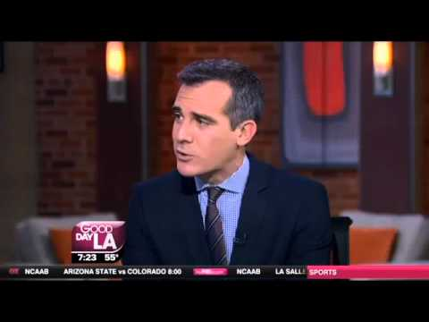 Mayor Eric Garcetti on Fox 11 Good Day LA