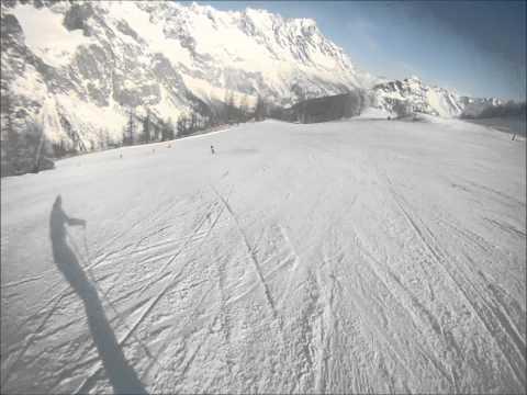 Courmayeur Mont Blanc: pista Lazey