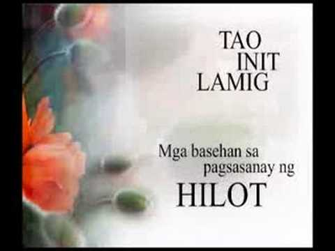"Experience Traditional Filipino Massage ""Hilot"""