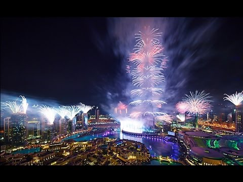 DUBAI 2014 FIREWORKS ( ULTIMATE NEW YEARS EVE PARTY ) HD