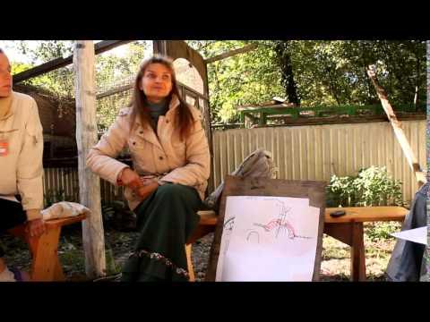 Светлана Панкина. Посадка священной рощи (28.09.2013)