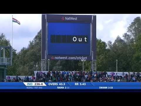 Virat Kohli 107 vs England at Cardiff 2011