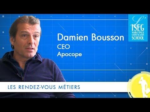 Les rendez-vous métiers - Directeur d'agence, avec Damien Bousson - Apocope