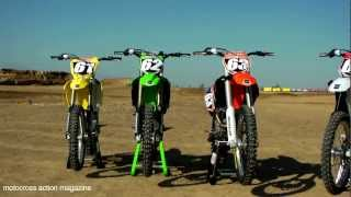 Motocross Action's 2013 250F Shootout