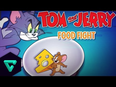 Tom and Jerry | Food Free For All |  Online Kids Games HD
