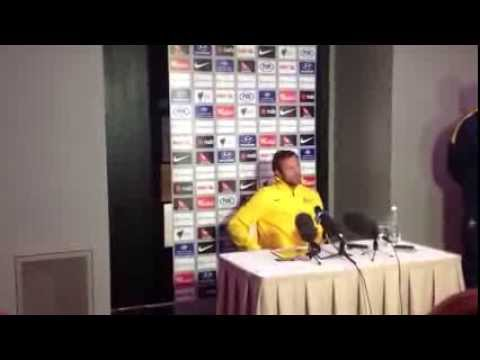 Lucas Neill Socceroos v Canada pre-match press conference: Part 1